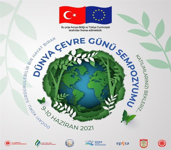 Birleşmiş Milletler tarafından 1974 yılında ilan edilen ve o tarihten bugüne kadar her yılın 5 Haziran gününde Dünya çapında etkinliklerle kutlanmaktadır. Dünya Çevre Günü sempozyumu Avrupa Birliği ve Türkiye Cumhuriyeti tarafından finanse edilen Sivas Kızılırmak Sağ ve Sol Kıyıları Atıksu Kollektörü Projesi Kapsamında Sivas Cumhuriyet Üniversitesi Çevre Mühendisliği Bölümü Öğretim Üyesi Prof.Dr. Meltem SARIOĞLU CEBECİ ve Sivas Belediyesi'nin iş birliği ile bu küresel gündeme katkı sağlamak üzere 9-10 Haziran 2021'de 2 gün boyunca 31 katılımcının sunumlarıyla çevrimiçi etkinlik gerçekleştirilecektir. https://www.cumhuriyet.edu.tr/haber/9429-dunya-cevre-gunu-sempozyumu